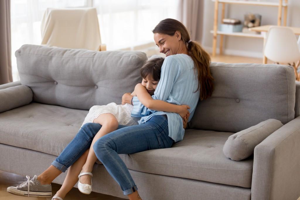 mother daughter bonding time