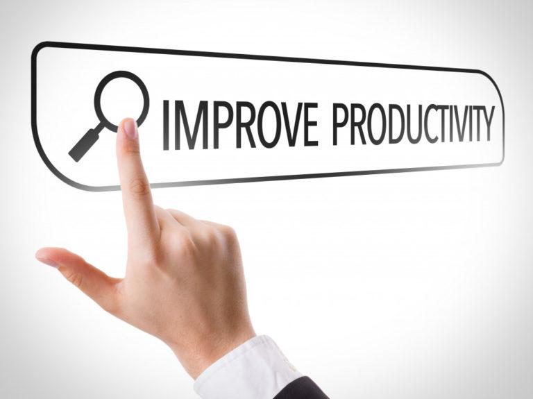 improve productivity concept