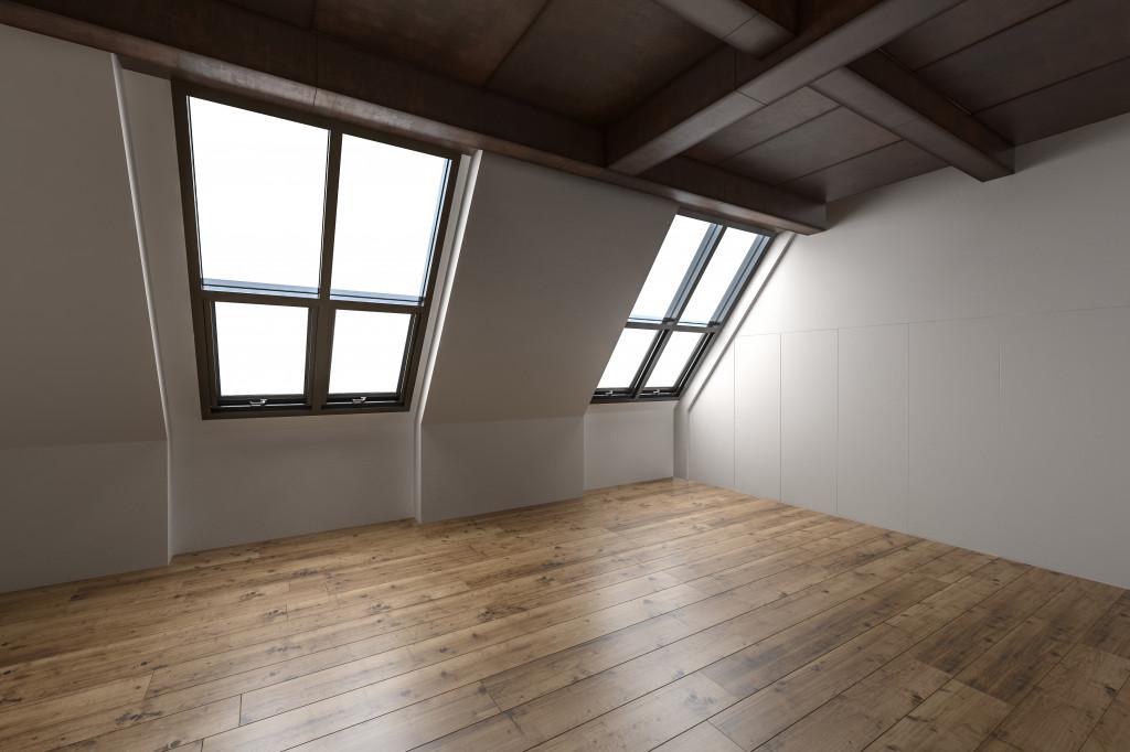 empty attict
